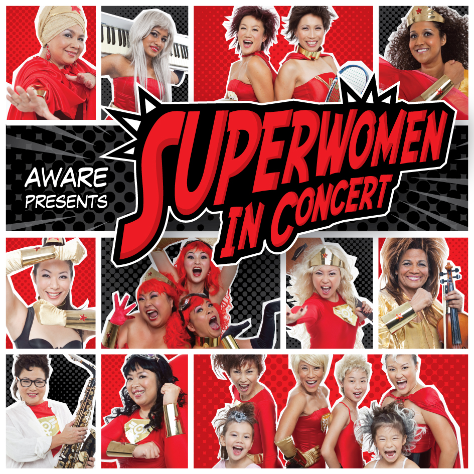 Superwomen in Concert